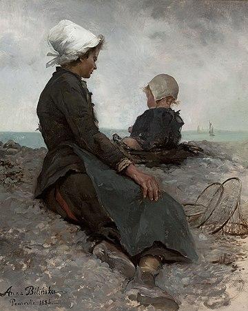Anna Bilińska-Bohdanowiczowa - At the seaside - MP 203 - National Museum in Warsaw.jpg