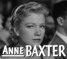 Anne Baxter - Wikipedia, the free encyclopedia