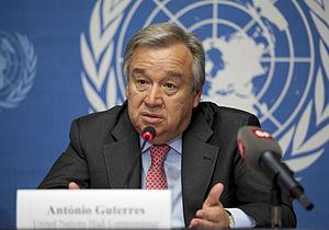 António Guterres - António Guterres, 2012