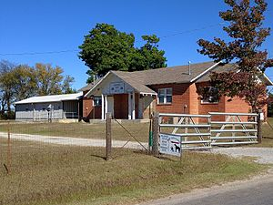 National Register of Historic Places listings in Garvin County, Oklahoma - Image: Antioch Dependent School District No. 15