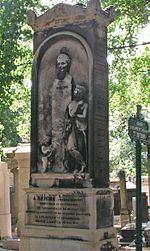 Reichas Grab auf dem Friedhof Père Lachaise in Paris (Quelle: Wikimedia)
