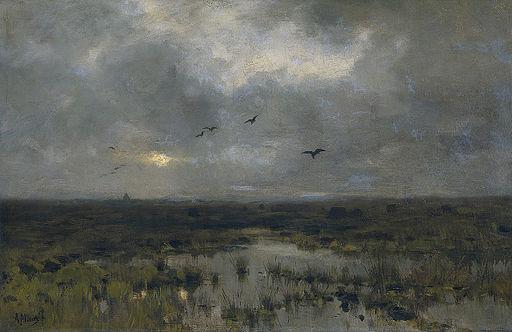 Anton Mauve - Het moeras