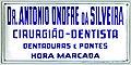 Antonio Onofre da Silveira Placa do consultorio.jpg