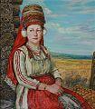 "Anvar saifutdinov The girl in the Mordovian suit"" a canvas.jpg"