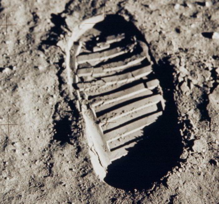Apollo 11 bootprint 2