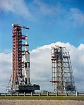 Apollo 12 space vehicle on the way from the Vehicle Assembly Building (VAB) to Pad A.jpg