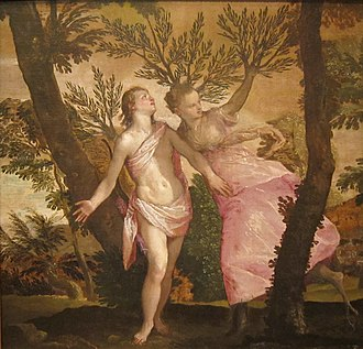 Daphne - Image: Apollo and Daphne by Veronese, San Diego Museum of Art
