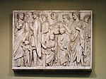 Ara Pacis relief 01 - replica in Pushkin museum by shakko.jpg