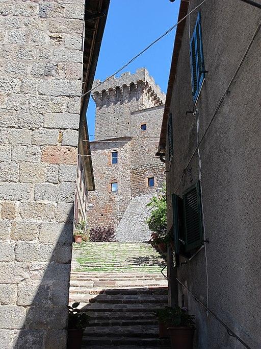 Arcidosso, vicolo verso Rocca Aldobrandesca