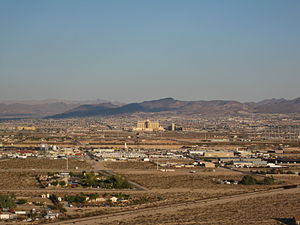 Arden, Nevada - View of Arden from the west, with Henderson in the distance.