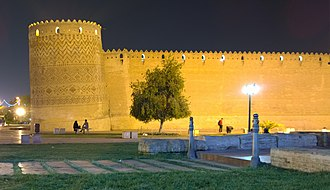 Arg of Karim Khan - Arg of karim khan At Night