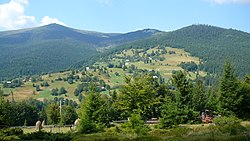 Apuseni Mountains near Arieșeni، شهرستان آلبا
