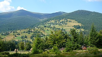 Transylvania - Apuseni Mountains near Arieșeni, Alba County