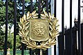 Arlington National Cemetery - US Navy shield on Schley Gate - 2011.jpg