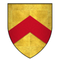 Arms of Sir Ralph de Stafford, 2nd Baron Stafford, KG.png