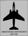 Armstrong Whitworth AW.168 top-view silhouette.png