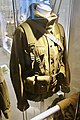 Army uniforms of Norway. Field uniform (feltuniform) M1975 with 1980s equipment. Camouflage jacket Belt Straps Ammunition pouches etc. Armed Forces Museum (Forsvarsmuseet) Oslo 2020-02- 3086.jpg