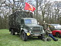 Army vehicle at Southern Vectis Bustival 2012.JPG