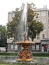 Gietijzeren fontein