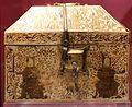 Arte siculo-normanna, reliquiario a cofanetto, avorio, xiv secolo, 02.jpg