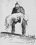 "Artists - American Artworks (Wartime Cartoons) - War Cartoons. ""We Will Return Belgium."" Drawn by John Cassel cartoonist for the N.Y. Evening World - NARA - 20807488 (cropped).jpg"
