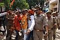 Arun Pathak's arrest by police.jpg