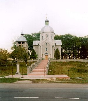 Ascension Church in Suhodoly.JPG
