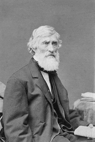 Asher Brown Durand - Asher Brown Durand, circa 1869, by Abraham Bogardus