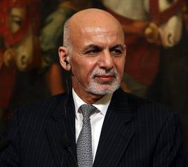 Afghan President Ashraf Ghani arrives in India