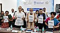 "Ashwini Kumar Choubey releasing a report on ""Large Scale Food Fortification in India – The Journey So Far and Road Ahead"", at the National Conclave on Nutrition Security Partnership & Convergence'.jpg"