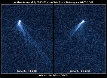 Asteroid P2013 P5 v2