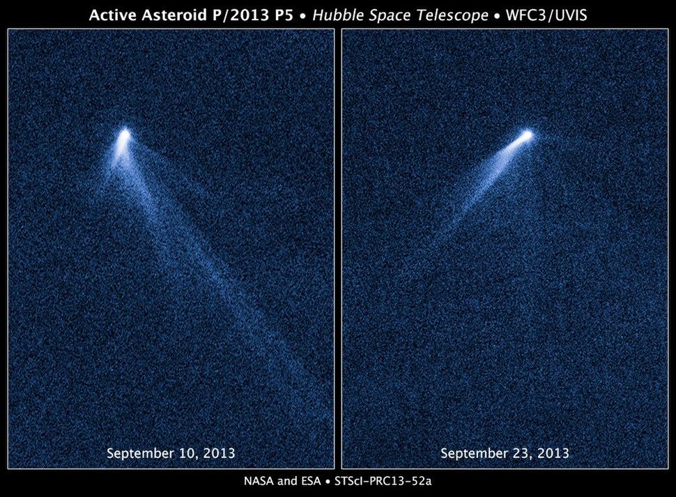 Asteroid P2013 P5 v2