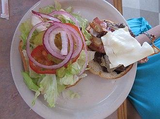 Cheeseburger - Some cheeseburger ingredients