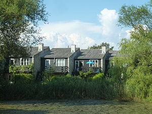 Emdrup - Atelierhusene, a series of terraced houses.