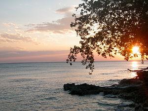 Español: La foto fue tomada en la playa privad...
