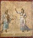 Attori in maschera, forse mito di auge e telefo, da casa dei dioscuri, 9039.JPG