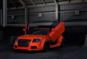 Car tuning - Tuned Audi TT
