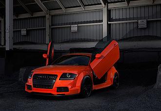 Car tuning - Tuned Audi TT
