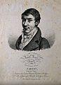 Augstin Louis, Baron Cauchy. Lithograph by J. Boilly, 1821. Wellcome V0001034.jpg