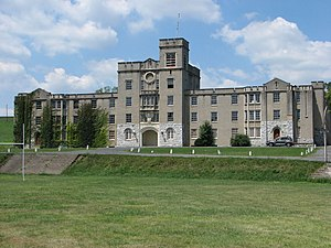 Augusta Military Academy - Main Barracks, August 2006