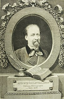 Auguste Poulet-Malassis French printer and publisher