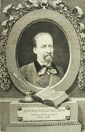 Auguste Poulet-Malassis - Paul Emmanuel Auguste Poulet-Malassis