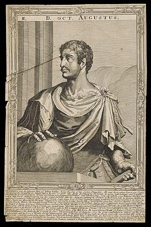 Eleven Caesars - Image: Augustus, Emperor of Rome Wellcome L0049802