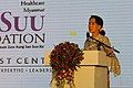 Aung San Suu Kyi at the Suu Foundation Launch (13037394465).jpg
