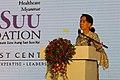 Aung San Suu Kyi at the Suu Foundation Launch (13037394465).jpg