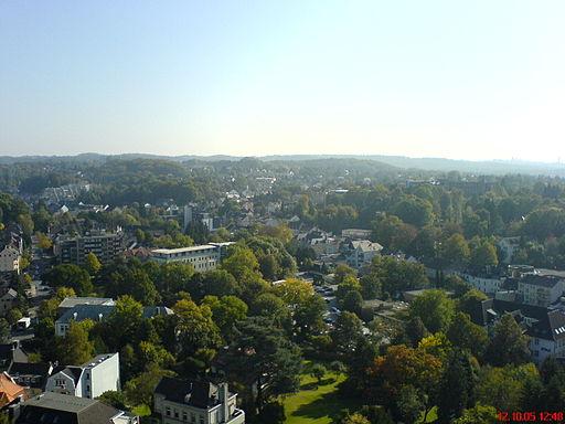 Ausblick Bergisch Gladbach