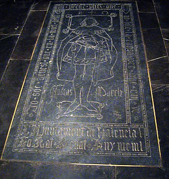 Ausiàs March - March's tomb, in the Valencia Cathedral