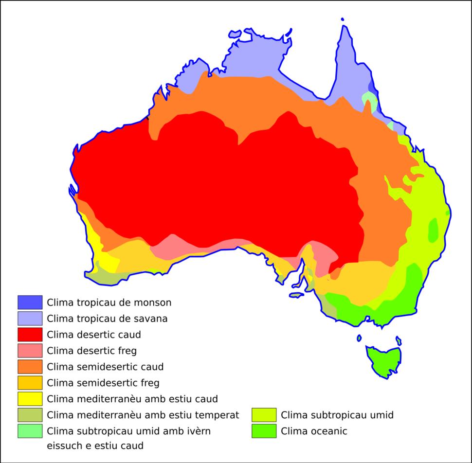 Austràlia - Clima