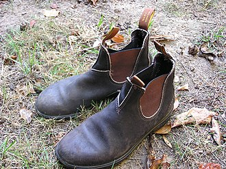 Chelsea boot - Australian work boots are a variation of the Chelsea boot.