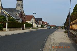 Autreville, Aisne - A road within Autreville
